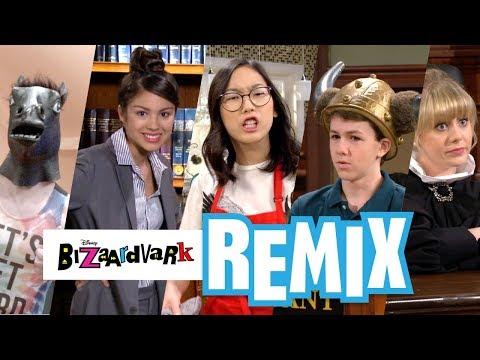 REMIX! Music Video 🎼🎶 | Bizaardvark| Disney Channel