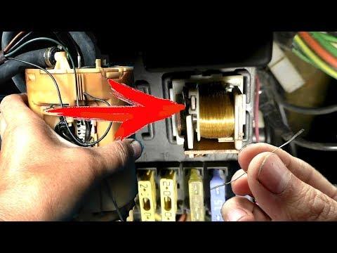 Не работает бензонасос. Как устранить. Проверка реле топливного насоса Пассат Б3 Ауди 80