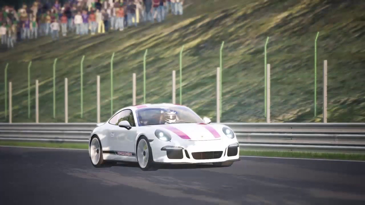 assetto corsa ps4 spa porsche 911 r with thrustmaster t150 youtube. Black Bedroom Furniture Sets. Home Design Ideas
