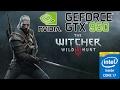 The Witcher 3 | nVidia Geforce GTX 950M | Intel core i7 6700HQ