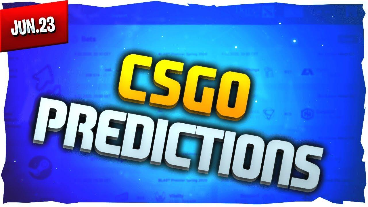 Csgo betting predictions youtube online sports betting georgia