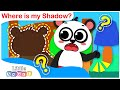 Where is my Shadow? | Baby Panda Learns about his Shadow| Nursery Rhymes by Little Angel