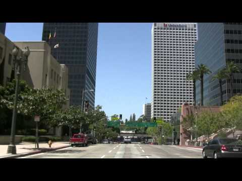 Be a passenger in my car - see downtown Los Angeles 1/5 HD Canon VIXIA-HV30