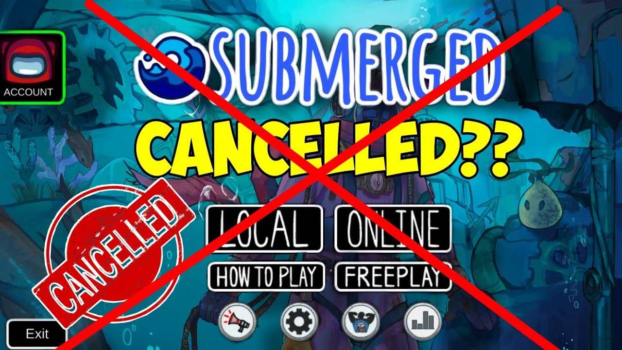 Submerged Map cancelled?  Official News from @5up  & polus.gg