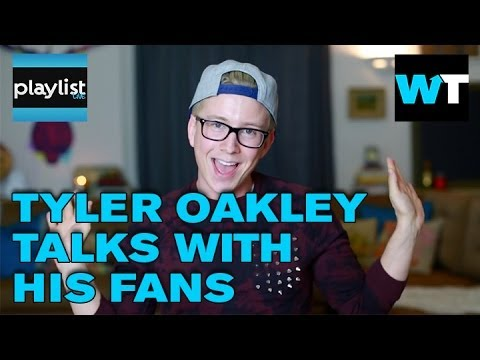 Tyler Oakley Special Fan Chat | Playlist Live 2014