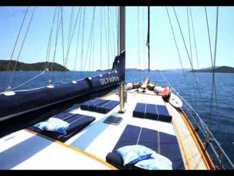 Charter gulet Olympos in Turkey.wmv