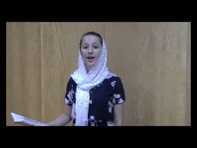 Изображение предпросмотра прочтения – ТатьянаЧернова читает произведение «Шел Господь пытать людей в любови» С.А.Есенина