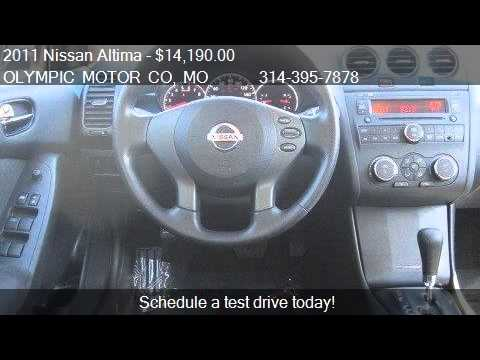 2011 Nissan Altima 2 5 S 4dr Sedan For Sale In Florissant