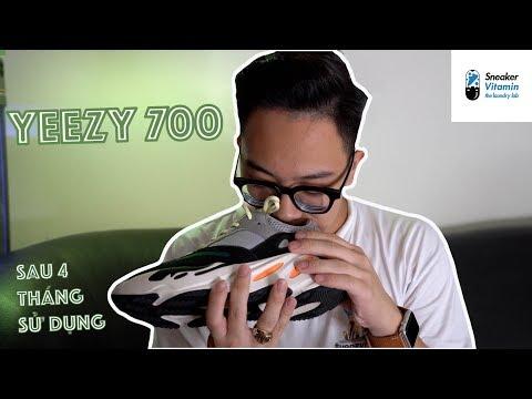 Yeezy 700 sau 4 tháng sử dụng | Clean giày ở Sneaker Vitamin