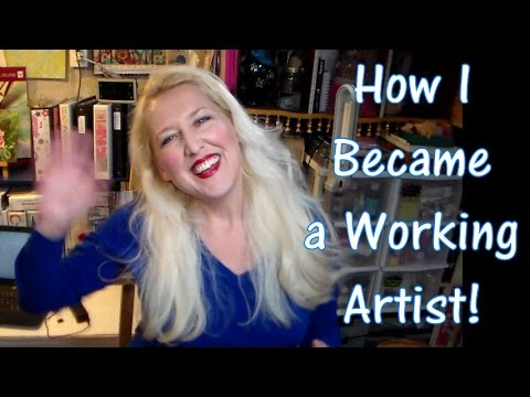 How I became a working artist {my humble journey}