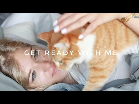 Get Ready With Me (and my cats 🐈) - Cindy