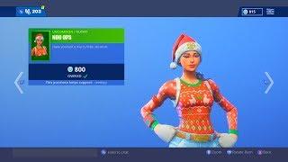 Christmas Skins Are Back!!!! Fortnite ITEM SHOP [December 8th] | Rainz