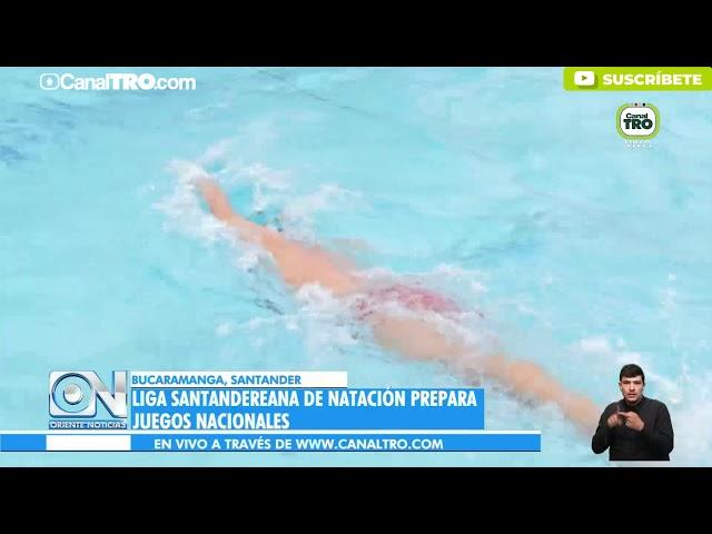 Liga Santandereana de natación prepara juegos nacionales