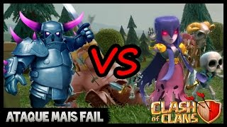 O ATAQUE MAIS FAIL DA HISTÓRIA DO CLASH OF CLANS | ‹Nerd Smart›