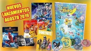 Saint Seiya Asgard Album, Pokémon Taps, Fortnite Cards, The Lion King Album and more