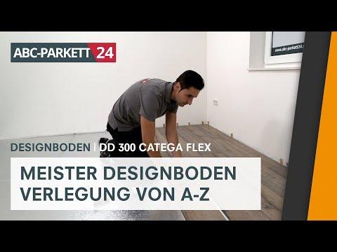 MEISTER Designboden DD 300 Catega Flex richtig verlegen