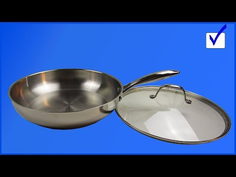 Keep Even Heating: Utopia Kitchen Stainless Steel Skillet Review