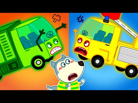🔴 LIVE | Wolfoo Plays with Talking Truck Car Toy | Kids Cartoons