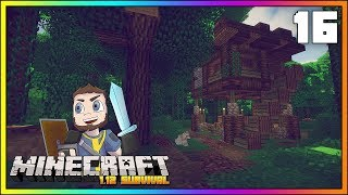 Minecraft Survival Lets Play ►STARTER JUNGLE HOUSE!!! ► [EPISODE 16] ► Minecraft 1.12 Survival