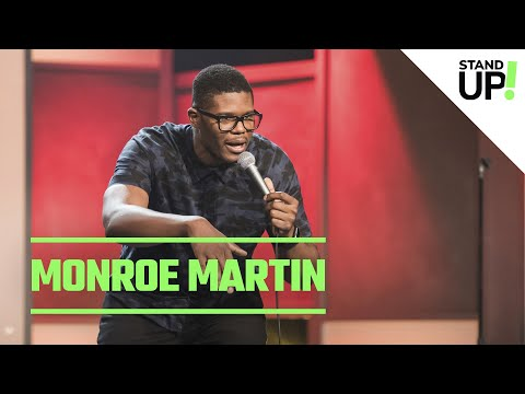 Monroe Martin Has Never Had A Problem With Cops | Just For Laughs