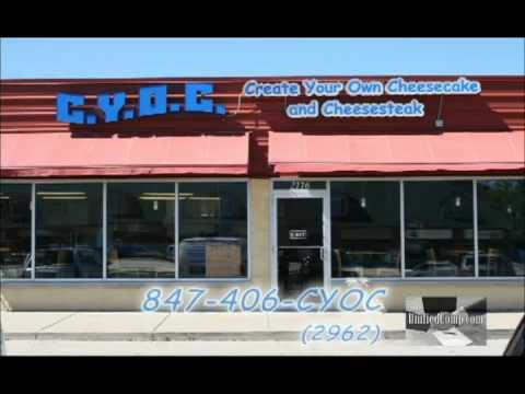C.Y.O.C. Create Your Own Cheesecake & Cheese Steak - Waukegan, IL - Commercial 01