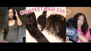BEST CHEAP AliExpress Hair EVER | Unboxing