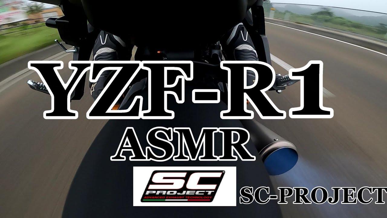 【motovlog】マフラーサウンドを聞いて寝落ちしたいあなたへ。ASMR【SC-PROJECT】【YZF-R1】