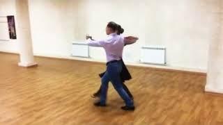 "Школа танцев ""Академия"", урок европейская программа, танго"