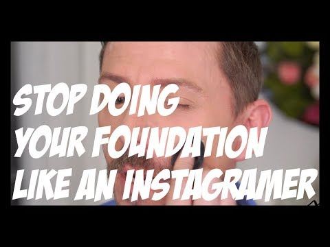 STOP DOING YOUR FOUNDATION LIKE AN INSTAGRAMMER! thumbnail