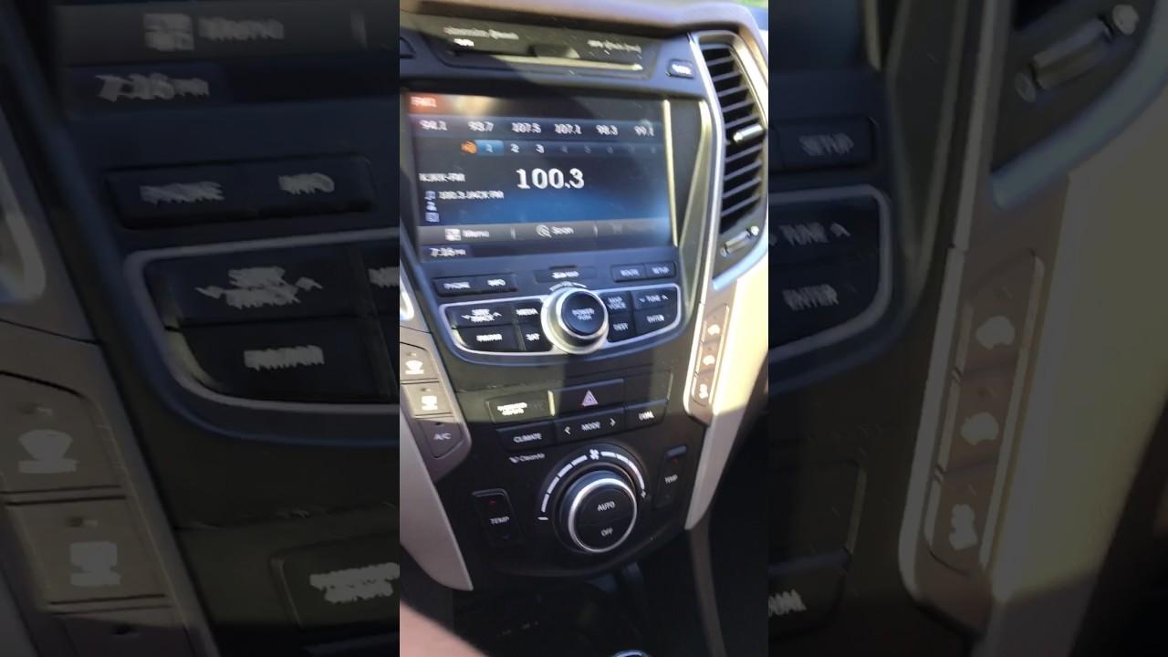 Hyundai Audio Problem
