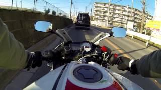 YZF-R125 GoPro3 TEST Japan