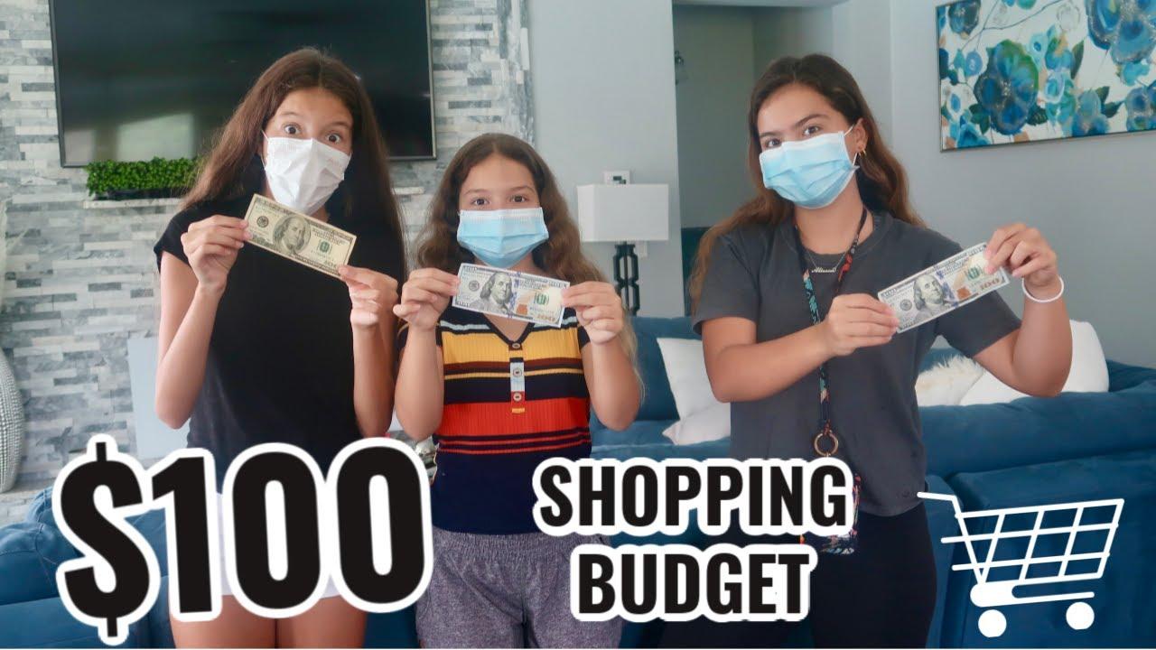 $100 SHOPPING BUDGET CHALLENGE | SISTER FOREVER