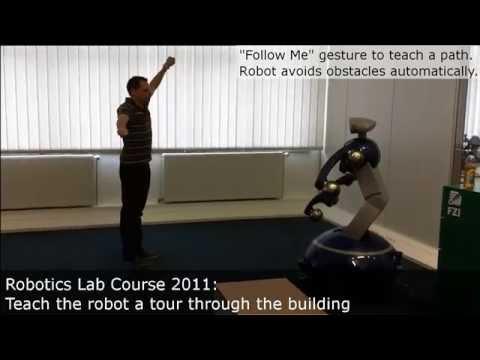 Mobile Robotics Lab Courses at FZI