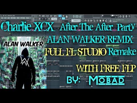 Charli XCX - After The After Party (Alan Walker Remix) Full FL STUDIO REMAKE + FREE FLP