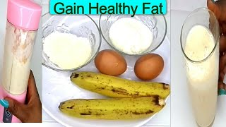 JUST TWICE A DAY GAIN WEIGHT FAST AT THE RIGHT PLACES