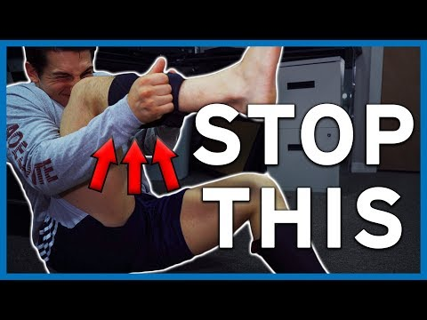 The Easiest [ILLEGAL] Way To Put On Knee Sleeves