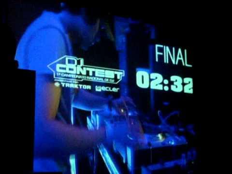 TRANCE PROGRESSIVE DJ KRIZ  SELECCIONADO ENTRE LOS 8 DE 40 PARTICIPANTES SANTIAGO DE CHILE DJCONTEST