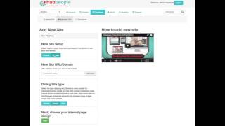 Hubpeople -  How to create a new Online Dating site