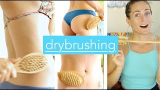 Drybrushing [[ ANTI-AGING, LYMPHATIC DETOX, and CELLULITE REDUCTION ]]