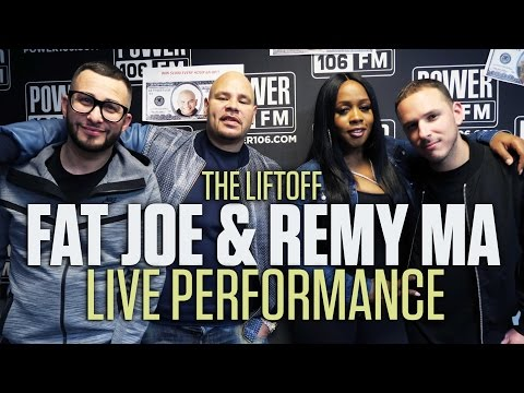 Fat Joe & Remy Ma Perform 'Lean Back' Live In Studio
