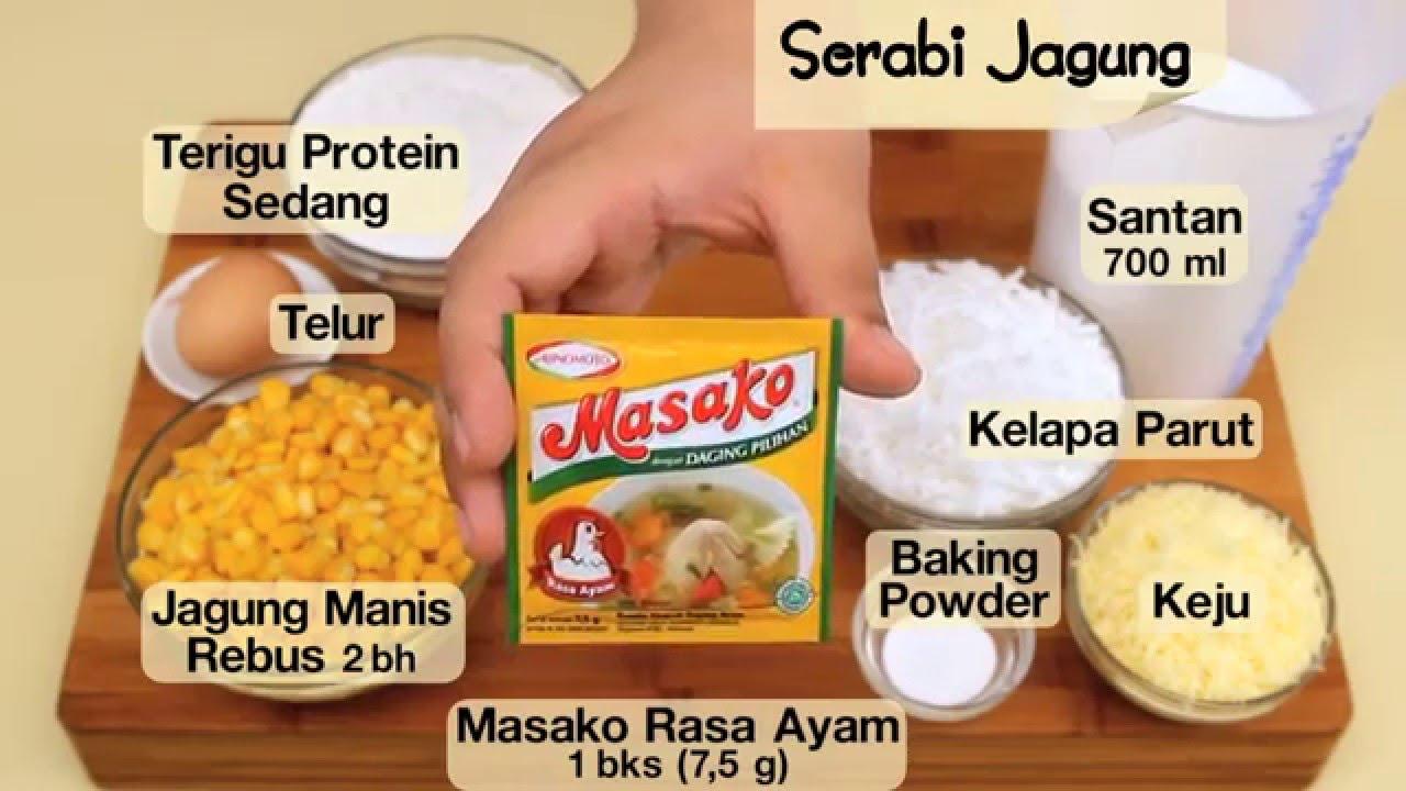 Dapur Umami Serabi Jagung Youtube
