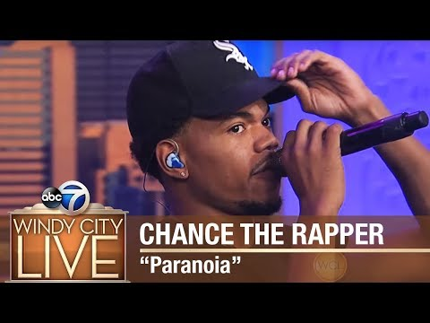"Chance The Rapper performs ""Paranoia"" on Windy City LIVE!"