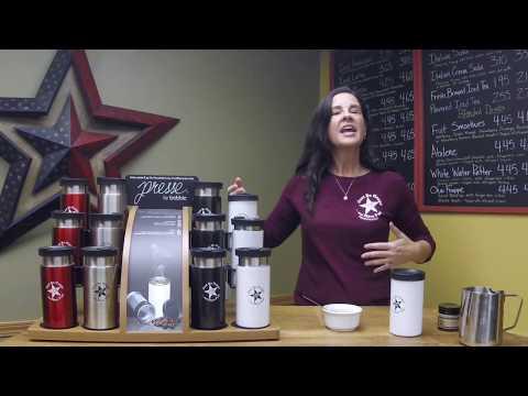 Cabin Coffee Co. Bobble Press