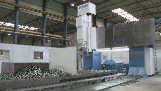 Gantry Portalfräsmaschine PFSG 100, Rottler Maschinenbau