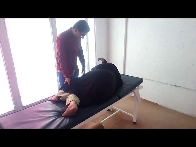 KAMMAR DARD MOHRON KA MASLA MINTS MAIN KHATAM adjustment by chiropractor Aamir Shahzad