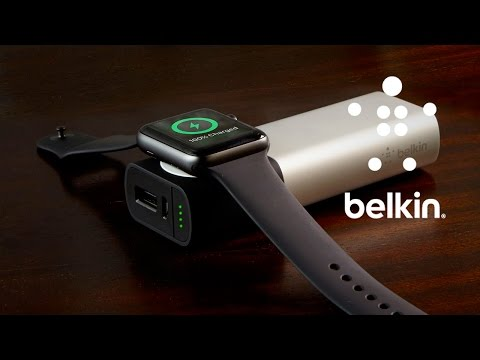 Charge Your Apple Watch + IPhone Anywhere, Anytime