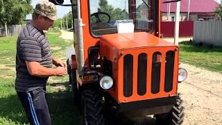 Самодельный трактор Т-150 К-700 с сигнализацией StarLine