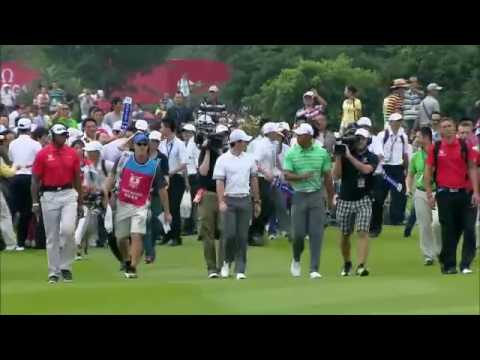 Tiger vs. Rory - Match at Mission Hills