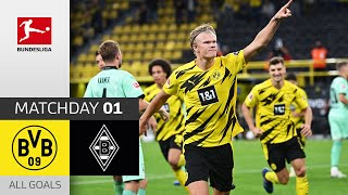 #bvbbmg | highlights from matchday 1!► sub now: https://redirect.bundesliga.com/_bwcs gio reyna and erling haaland shine, jude bellingham with his first assi...