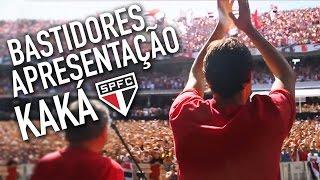 Bastidores SPFC: Apresentação de Kaká no Morumbi #TRIKOLOR